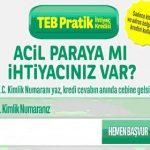 TEB Bankası Kredi Borç Sorgulama